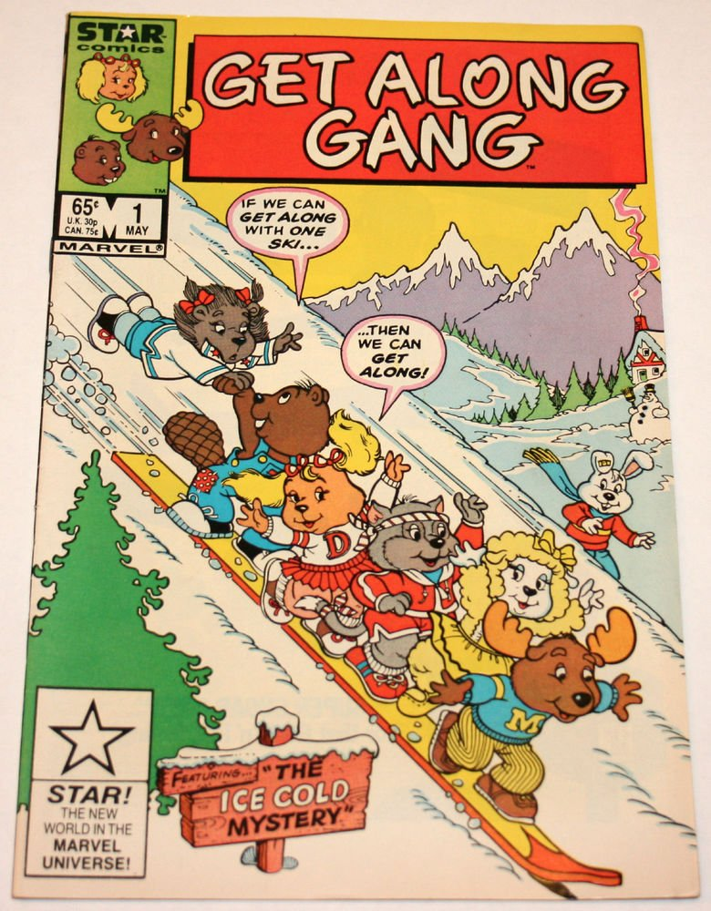 STAR COMICS: Get Along Gang - Issue #1 / VF