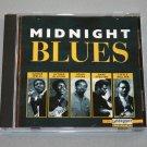 """Various Artists """"Midnight Blues"""" (CD, 1994, Laserlight)"""