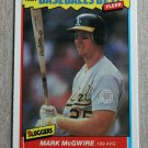 "1987 FLEER BASEBALL ""Baseball's Best"" - Mark McGwire (#26)"