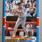 "1988 FLEER BASEBALL ""Exciting Stars"" - Mark McGwire (#26)"