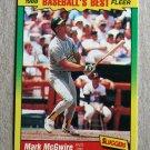 """1988 FLEER BASEBALL """"Baseball's Best"""" - Mark McGwire (#27)"""