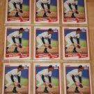 Lot of (9) 1990 FLEER BASEBALL - Robin Ventura Cards