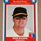 1990 All American Baseball Team: Limited Collectors Edition - Mark McGwire (#2)