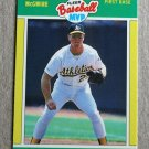 "1989 FLEER BASEBALL ""Baseball MVP"" - Mark McGwire (#28)"