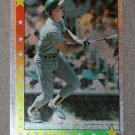 "1990 TOPPS BASEBALL ""Super Star Sticker Back"" - Mark McGwire (#52)"