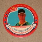 1989 KING-B BASEBALL DISC - Mark McGwire (#4)