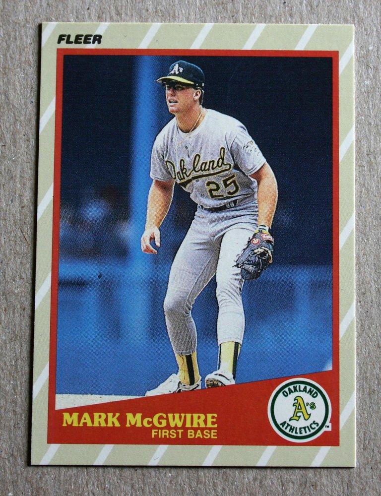 "1989 FLEER BASEBALL ""Super Stars"" - Mark McGwire (#31)"