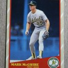 "1989 FLEER BASEBALL ""Super Stars"" - Mark McGwire (#31)"