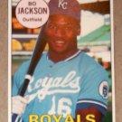 1990 BASEBALL CARDS MAGAZINE - Bo Jackson (#41)