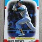 "1989 FLEER BASEBALL ""Heroes of Baseball"" - Mark McGwire (#28)"