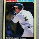 "1989 FLEER BASEBALL ""All Stars"" - Mark McGwire (#29)"
