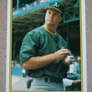 """1989 TOPPS BASEBALL """"All-Star Set: Collector's Edition"""" - Mark McGwire (#41)"""