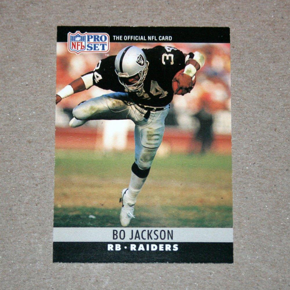 1990 PRO SET FOOTBALL - Bo Jackson (#155)