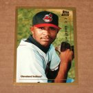 1999 TOPPS BASEBALL - Cleveland Indians Team Set (Traded/Rookies Series Only)