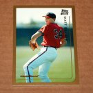 1999 TOPPS BASEBALL - Atlanta Braves Team Set (Traded/Rookies Series Only)