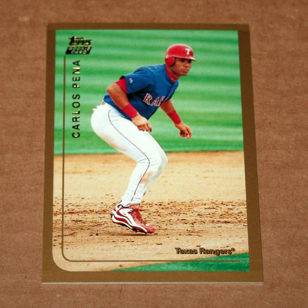 1999 TOPPS BASEBALL - Texas Rangers Team Set (Traded/Rookies Series Only)