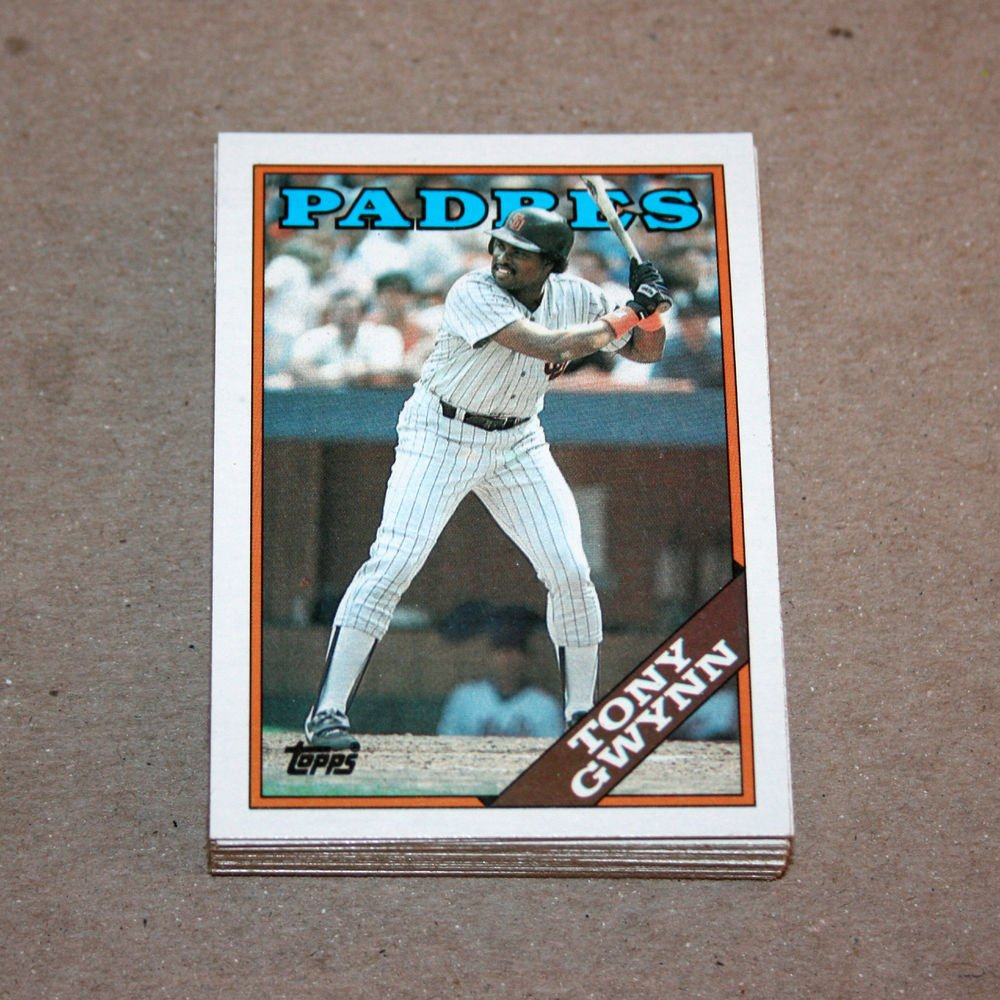 1988 TOPPS BASEBALL - San Diego Padres Team Set + Traded Series