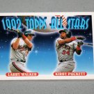 1993 TOPPS BASEBALL - 1992 Topps All Stars Complete Sub-Set