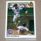 1990 UPPER DECK BASEBALL - Chicago Cubs Team Set + High Number Series