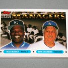 1993 TOPPS BASEBALL - Major League Managers Complete Sub-Set + Traded Series