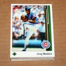 1989 UPPER DECK BASEBALL - Chicago Cubs Team Set + High Number Series