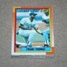 1990 TOPPS BASEBALL - Chicago White Sox Team Set + Traded Series
