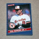 1986 DONRUSS BASEBALL - Baltimore Orioles Team Set