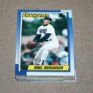 1990 TOPPS BASEBALL - Los Angeles Dodgers Team Set + Traded Series