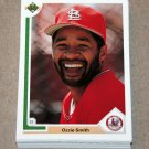 1991 UPPER DECK BASEBALL - St. Louis Cardinals True Team Set (Low/High/Final)