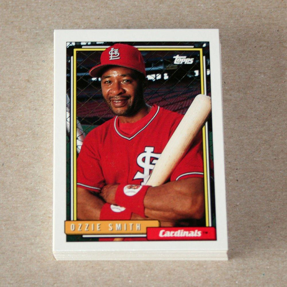 1992 TOPPS BASEBALL - St. Louis Cardinals Team Set