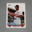1993 TOPPS BASEBALL - St Louis Cardinals Team Set (Series 1 & 2)