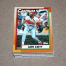 1990 TOPPS BASEBALL - St. Louis Cardinals Team Set + Traded Series