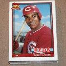 1991 TOPPS BASEBALL - Cincinnati Reds Team Set + Traded Series