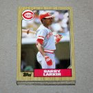 1987 TOPPS BASEBALL - Cincinnati Reds Team Set + Traded Series