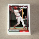 1992 TOPPS BASEBALL - Cincinnati Reds Team Set