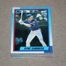 1990 TOPPS BASEBALL - Chicago Cubs Team Set + Traded Series