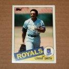 1985 TOPPS BASEBALL - Kansas City Royals Team Set (Traded Series Only)