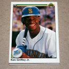 1990 UPPER DECK BASEBALL - Seattle Mariners Team Set + High Number Series