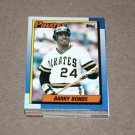 1990 TOPPS BASEBALL - Pittsburgh Pirates Team Set
