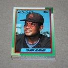 1990 TOPPS BASEBALL - San Diego Padres Team Set + Traded Series