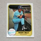 1981 FLEER BASEBALL - Seattle Mariners Team Set