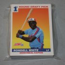 1991 SCORE BASEBALL - Montreal Expos Team Set + Rookie & Traded Series