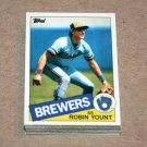 1985 TOPPS BASEBALL - Milwaukee Brewers Team Set + Traded Series