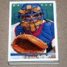 1993 UPPER DECK BASEBALL - Texas Rangers Team Set (Series 1 & 2)