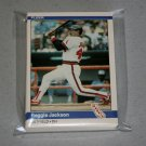 1984 FLEER BASEBALL - California Angels Team Set