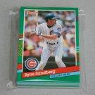 1991 DONRUSS BASEBALL - Chicago Cubs Team Set