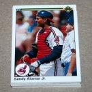 1990 UPPER DECK BASEBALL - Cleveland Indians Team Set + High Number Series