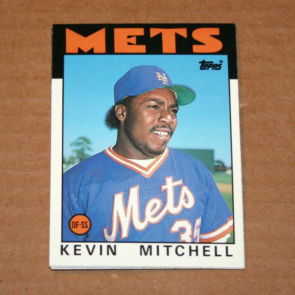 1986 TOPPS BASEBALL - New York Mets Team Set (Traded Series Only)