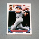1993 TOPPS BASEBALL - Texas Rangers True Team Set with Traded Series