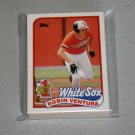 1989 TOPPS BASEBALL - Chicago White Sox Team Set + Traded Series